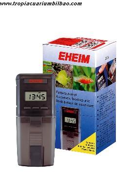 Comedero automatico digital eheim a pilas for Comedero automatico para peces